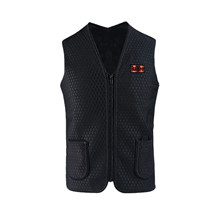 Cycling Heating Vests Winter Warm Men Women Heating Vest Usb Infrared Flexible Electric Warm Outdoor Windproof Sport Jacket cheap CN(Origin) Fits true to size take your normal size None Polyester Thermal High Quality And 100 Brand new 3 file temperature control adjustment What temperature do you want