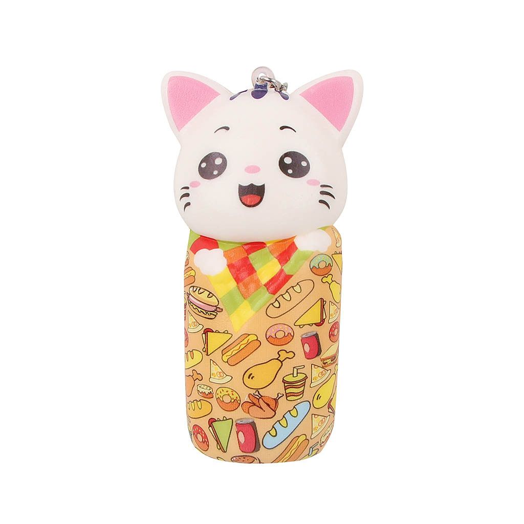 Mini Adorable Cat Slow Rising Kids Stress Reliever Decompression Toy Kids Toys Toys For Children Christmas Gifts Juguetes