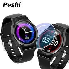 Смарт-часы с полным экраном для мужчин и женщин, полный сенсорный монитор сердечного ритма, кровяное давление, спортивные фитнес-часы, умные часы, Android IOS iphone