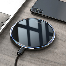 QI Fast Wireless Charger 10W For iPhone XS XR X 8 Phone Chag