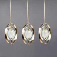 Светодиодный современный скандинавский дизайнерский светодиодный светильник со стеклянными пузырьками, светодиодный светильник. Подвесн...