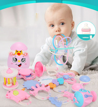 Baby Toys Rattle For Toddlers Stroller Shaking Bell Lovely Hand Shake Ring  Rattles Newborn 0- 12 Months Teething