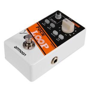 Image 3 - ammoon POCK LOOP Looper Guitar Effect Pedal 11 Loopers Max.330mins Recording Time guitar pedal guitar accessories guitar parts