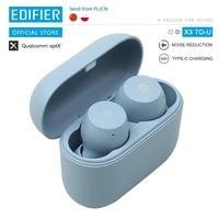 EDIFIER X3 TO-U el Viernes Negro edición TWS inalámbrica Bluetooth auricular bluetooth 5,0 asistente de voz touch control por voz asistente