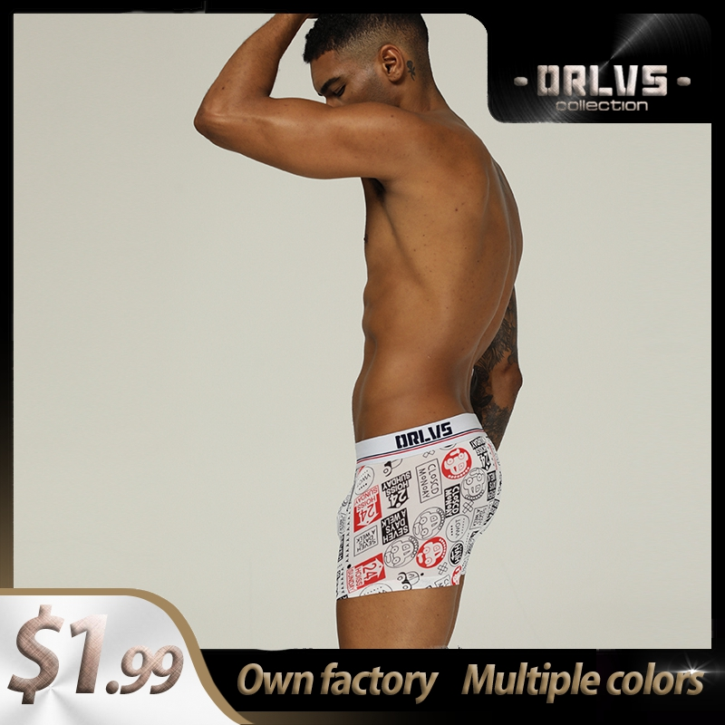 Panties Cotton Patchwork Quick Dry Sexy Men Underwear Boxer Shorts High Quality Trunks Mens Boxershorts Underware Boxers Funny