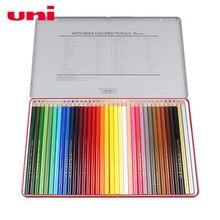 Mitsubishi Uni – crayons de couleur pour dessin, croquis, fournitures scolaires, Garde secrète, décor artistique, 880
