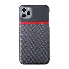 Т-карбоновый Фабричный чехол для телефона из углеродного волокна хорошо подходит для i5
