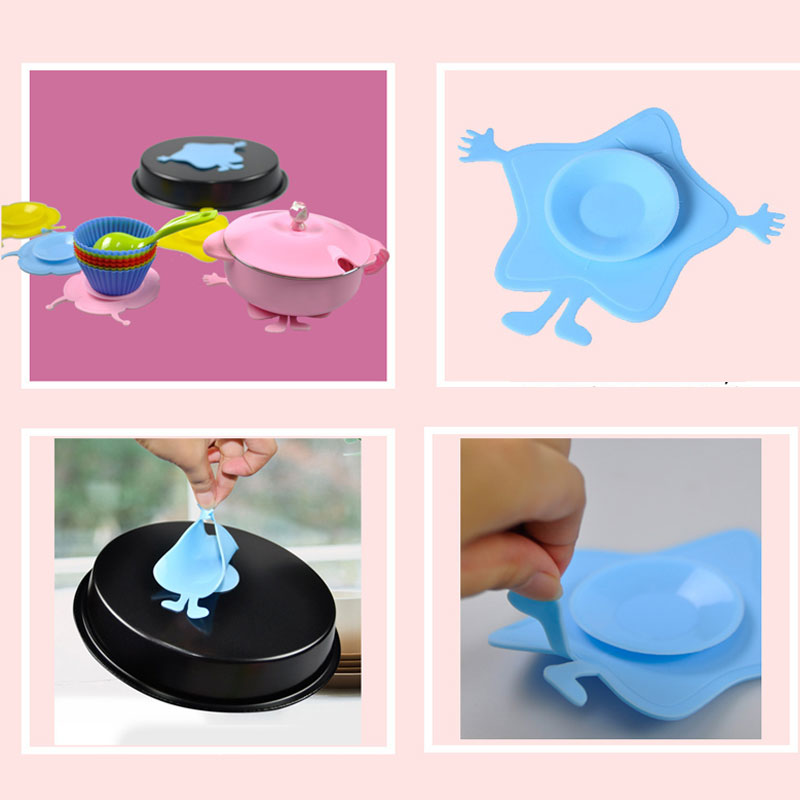 Hot Sale Baby Children Kids Bowl Sucker Suction Silicone Tableware Plate Dishes Double Sided Slip Resistant(have A Gift)