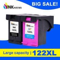 122XL INKARENA Compatível Cartucho de Substituição para HP 122 XL Cartucho de Tinta Deskjet 1000 1050 1050A Preto 1510 2000 2050 3000