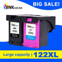 INKARENA Compatible 122XL Cartridge Replacement for HP 122 XL Black Ink Cartridge Deskjet 1000 1050 1050A 1510 2000 2050 3000