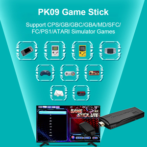 Image 2 - POWKIDDY Tv Game Stick 4K HD Video Game Console Retro Arcade 64GB 10000 Games Wireless Dual Controller Gamepad Childrens Gifts