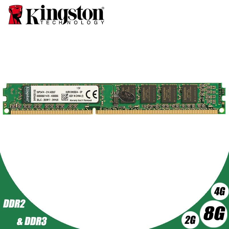 Used Kingston Desktop PC Memory RAM Memoria Module DDR2 800 667 MHz PC2 6400 8GB 4GB 2GB 1GB DDR3 1600 1333 PC3-10600 12800