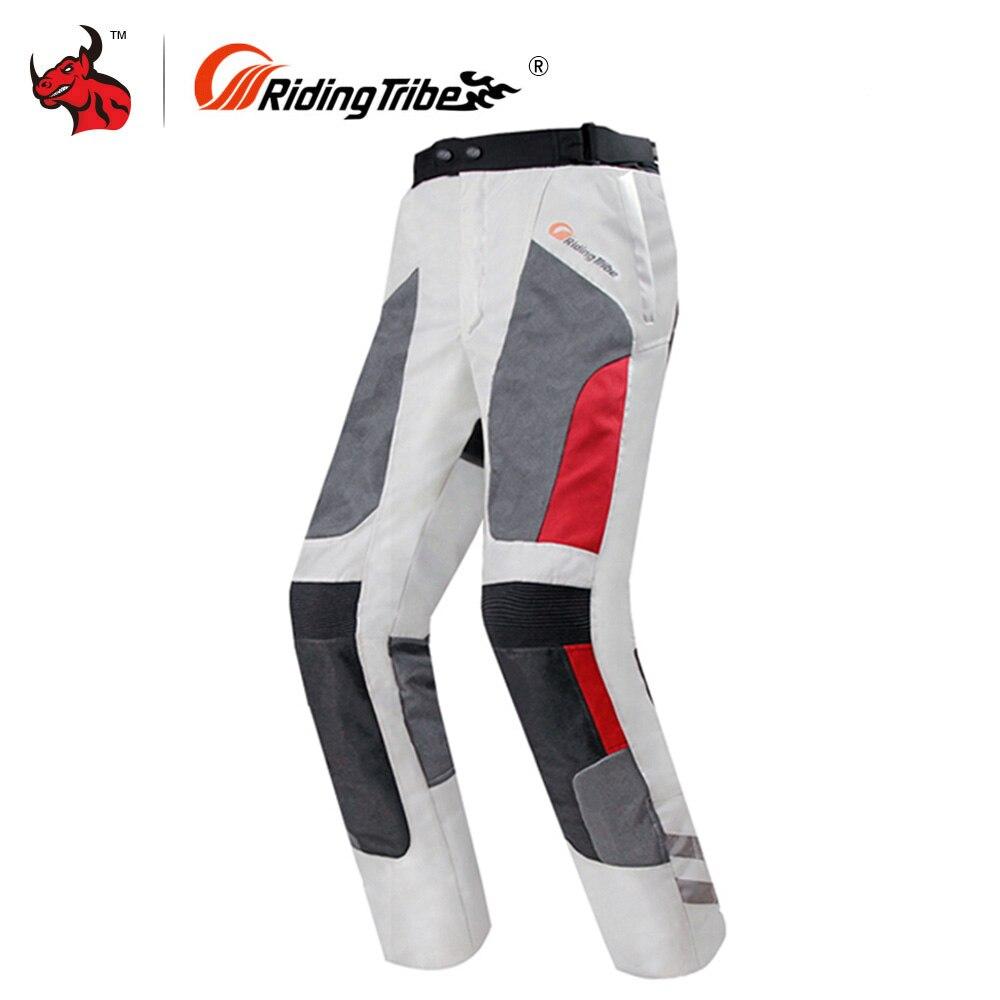 Riding Tribe Motorcycle Pants Waterproof Protective Gear Moto Motocross Pants Motorcycle Riding Trousers Pantalon For 4 Season