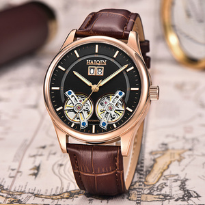 Image 3 - HAIQIN Mens watches Mens Watches top brand luxury Automatic mechanical sport watch men wirstwatch Tourbillon Reloj hombres 2020