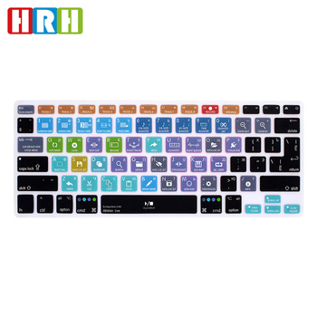 Funda de silicona para teclado ruso para MacBook Air Pro, Protector de...