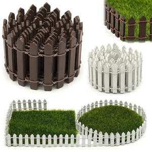 Fence-Accessories Decorative Miniature Fence Fairy-Garden-Kit Garden-Vegetable-Patch