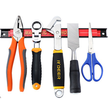 8 Inches Magnetic Tool Holder Heavy Duty Organizer for Wall Mounting in Garage Workshop Work Bench
