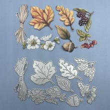 Leaves and pinecones Metal Cutting Dies 2020 For Scrapbooking DIY Paper/photo Cards New Design Cutting Dies Craft Cuts