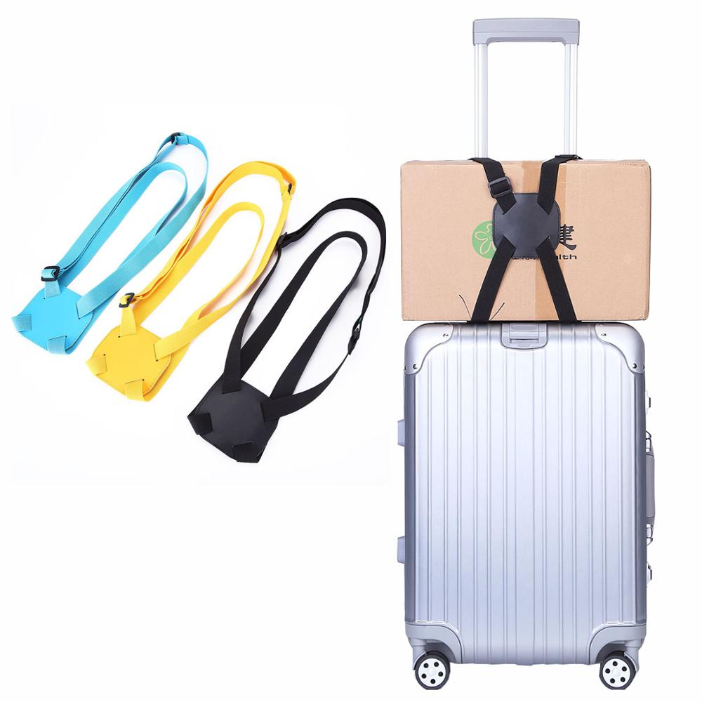 New Elastic Luggage Strap Travel Bag Parts Suitcase Fixed Belt Trolley Adjustable Security Accessories Supplies Products HW665