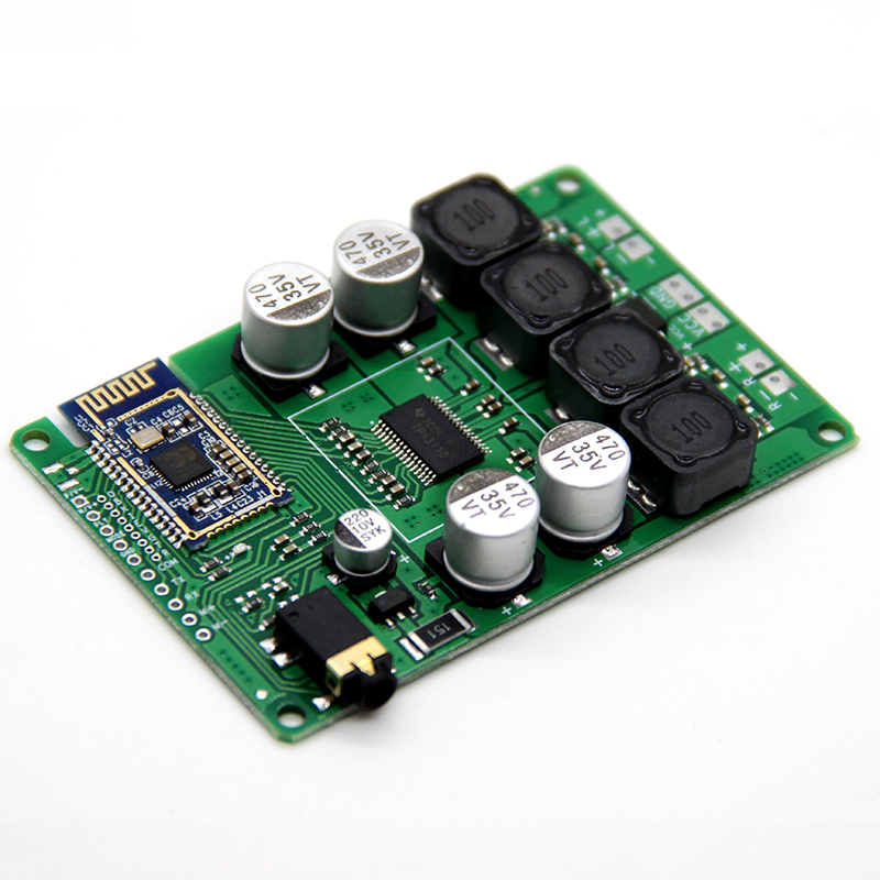Power Amplifier Bluetooth 5.0  Board 2x30W/20W Support AUX Audio Input Support Serial Command To Change The Name Password