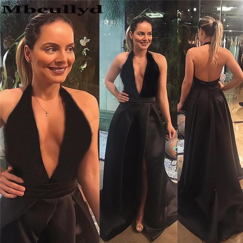 Mbcullyd Elegant Dark Green   Prom     Dresses   Long 2019 Floor Length Celebrity Evening   Dress   Gowns For Women vestidos de graduacion