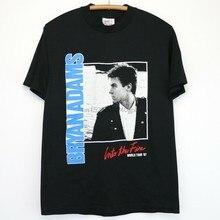 Bryan Adams – t-shirt Vintage, 1987, dans le Fire Tour AM Records, groupe Rock