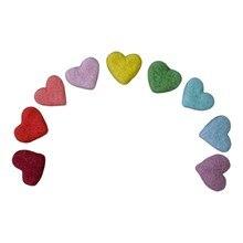 5/6/9 Uds DIY hecho a mano bebé amor, corazón, estrellas ornamentos adornos de fiesta doméstica accesorios de fotografía recién nacido bebé foto GXMB