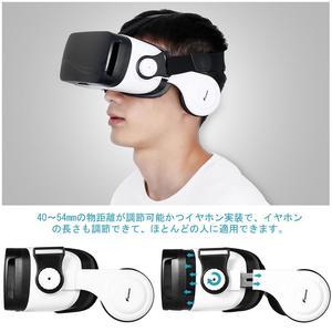 Image 5 - FOXNOVO 1 PC 3D VR 몰입 형 영화 유리 헤드셋 가상 현실 조정 가능한 게임 비디오 헤드폰 안경 고글