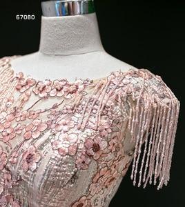 Image 5 - J67080 Jancember Quinceanera שמלת קריסטל טאסל שווי שרוול תחרה עד בחזרה נצנצים נסיכת שמלות נשף 2020 vestidos dulces 16