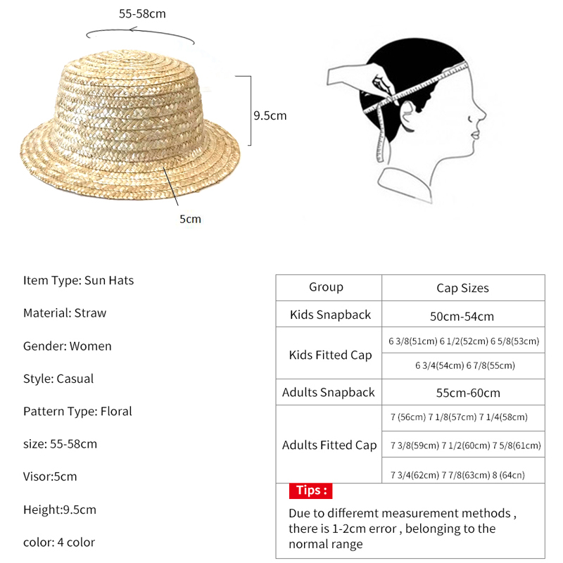 Image 5 - YOYOCORN Outdoor Beach Summer Caps Chapeu Feminino Bow Handmade Weave  Sun Hats For Women Black Ribbon Up Large Brim Straw HatMens Sun Hats   -