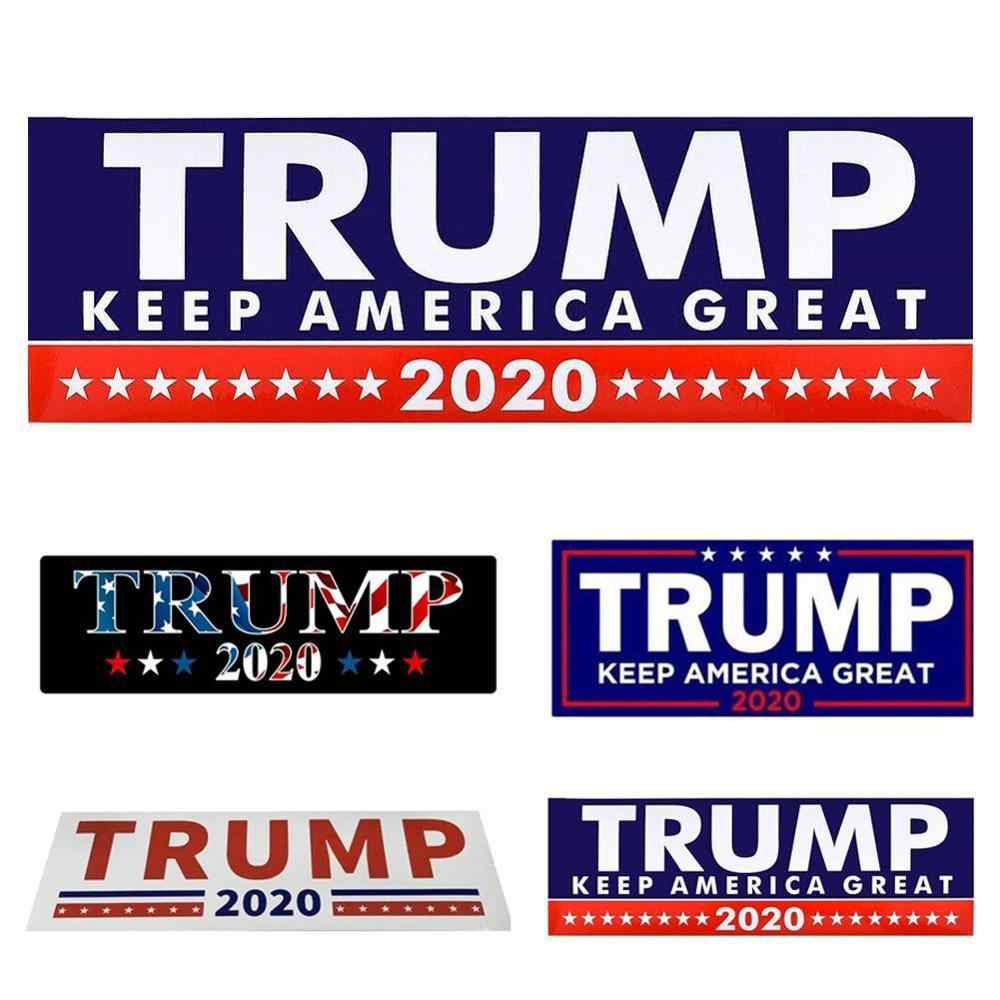 New 10PCS  Removable Donald Trump for President 2020 Bumper Sticker Trump Keep America Great