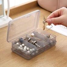 Многофункциональный 10 сеток пустой прозрачный ящик для хранения