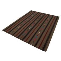 189x247 Cm Brown Handmade Oriental Rug Rug-6x8 Ft