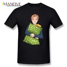 7 Deadly Sins T Shirt King Cartoon Print T-Shirt Short Sleeve Graphic Tee Shirt Funny Fashion Man 100 Percent Cotton Tshirt