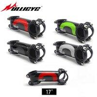 Nuevo producto  Ullicyc  aleación de 5 colores + 3k  tallo de 17 grados para bicicleta de montaña  eje para bicicleta de carretera  barra de 28 6mm  31 8mm
