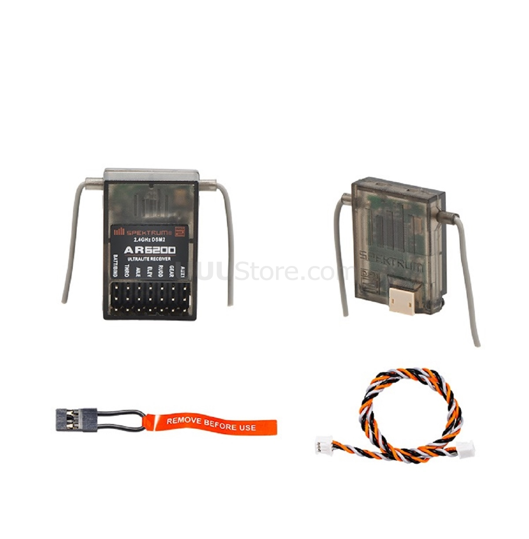 Spektrum AR6200 Receiver With 2.4GHz Self-frequency Satellite Receiver For DSMX DSM2 11MS 22MS WALKERA Devo 7E 10 8s 12s