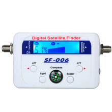 Digitale Satelliet Finder SF-006 Meter Satlink Receptor Tv Signaal Ontvanger Sat Decoder Satfinder Kompas Lcd Display(China)