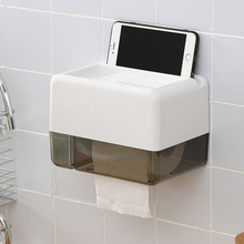 LEDFR Plastic Toilet Paper Dispenser Standing Suction Skull Hand Paper Towel Trump Wall Mounted  Bathroom Organizer LF82002
