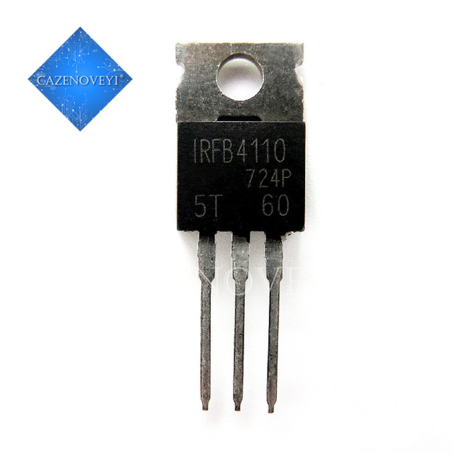 50pcs/lot IRFB4110PBF IRFB4110 B4110 TO 220 In Stock