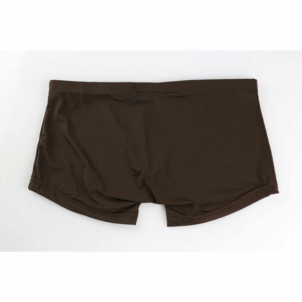 2019 חדש mens תחתוני גברים כותנה תחתוני זכר טהור גברים תחתוני מכנסיים קצרים תחתונים בוקסר כותנה מוצק cuecas
