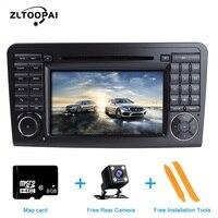 ZLTOOPAI Auto Radio Car Multimedia Player GPS Navigation Wince For Mercedes Benz GL ML CLASS W164 X164 Car Multimedia Player