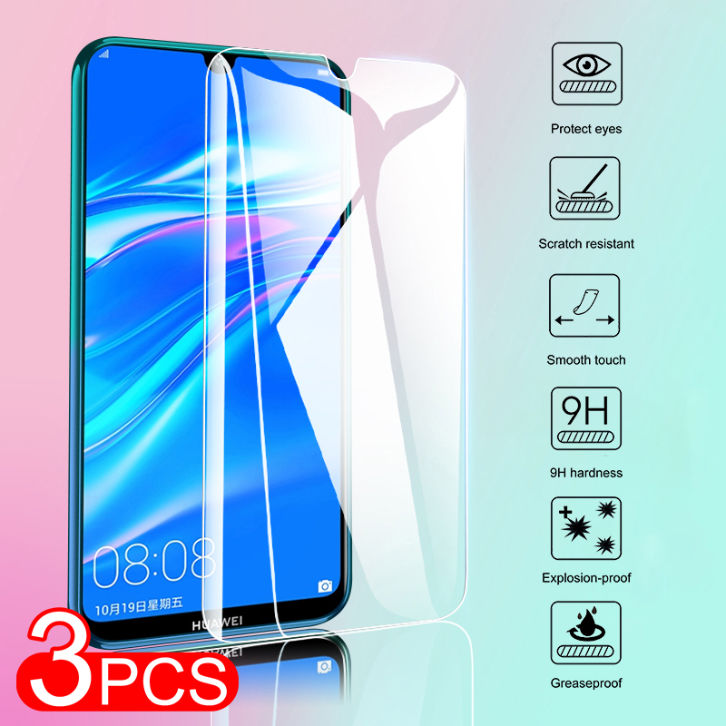 3PCS Screen Protector Glass On For Huawei Honor X10 8X Max 9X 20 Pro Protective Tempered Glass For Honor <font><b>30</b></font> 20 <font><b>10</b></font> Lite 20S Film image