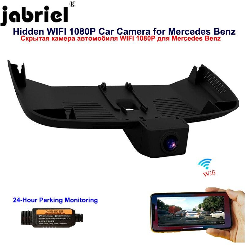 Jabriel dla Mercedes Benz vito v260 v260L viano w447 w638 w639 2016 2017 2018 2019 ukrytych 1080P Wifi kamera na deskę rozdzielczą wideorejestrator samochodowy kamera samochodowa