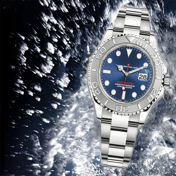 2021 AAA40mm High Automatic Mechanical Watches Stainless Steel Luminous Sapphire Calendar Yacht Watch 904L H Noob 2018 high quality luxury military automatic watch solid steel tritium watches sapphire crystal self luminous 50m waterproof