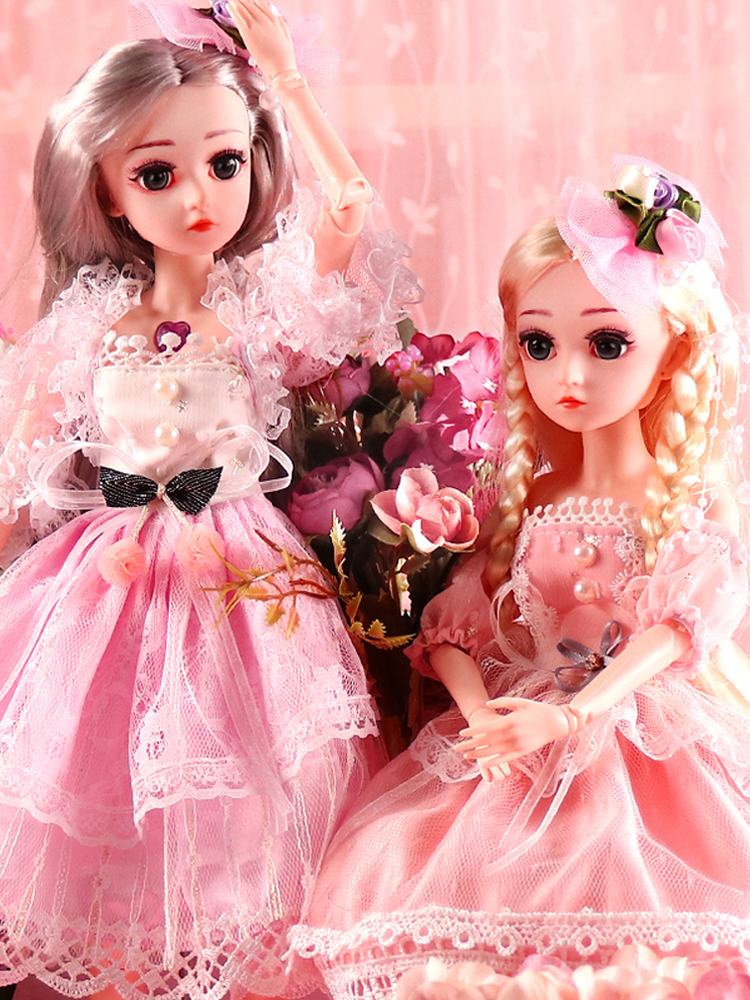 Ucanaan 18-Ball Dolls Wig-Hair Shoes Girls 18inch Outfit SD with Makeup Best-Gift