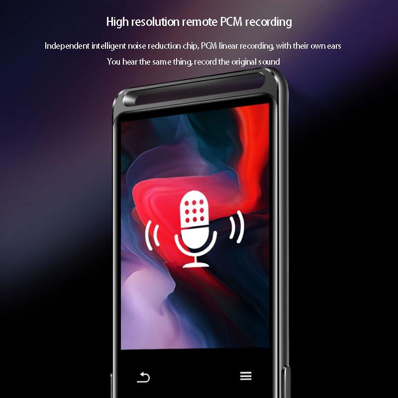 Mp3-Player Ebook Voice-Recorder Fm-Radio Hifi Bluetooth Lossless Portable Audio-Walkman