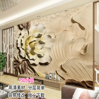 Brand Chain Clothing Store Cool Wallpaper   Hotel Decoration Mural Top Grade European Style Mural