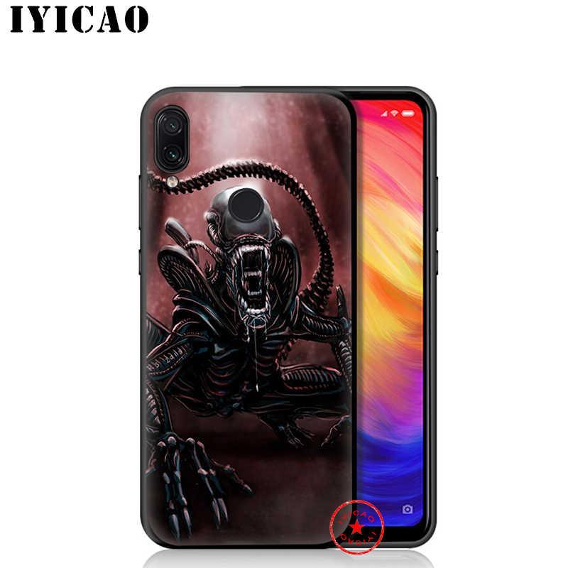 IYICAO Alien Vs Predator Weichen Fall für Redmi K20 8A 7A 7 6 Pro 6A 5 Plus 5A 5 4X 4A für Redmi S2 Gehen Silikon