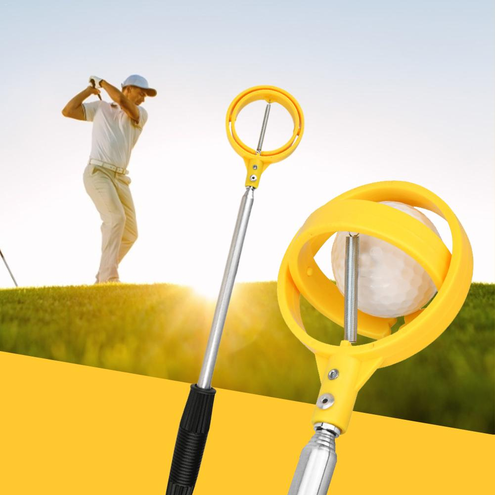 Golf Ball Retriever Catcher Telescopic Golf Clubs Fishing Club Golf Course Supplies 2M Golf Ball Pick Up Tool