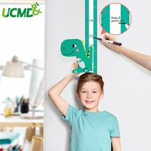 Baby Growth Chart Wall Sticker Height Measuring Rulers for Kids Boys Girls Room Decoration Nursery Removable Magnetic Dinosaur